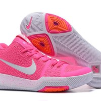 HCXX Men's Nike Zoom Kyrie 3 Basketball Shoes Pink 40-46