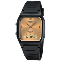 Casio Classic Watches | Official Casio Store Online | ShopCasio.com | Classic AW48HE-9AV Gold Face/ Black Band
