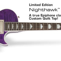 Epiphone Ltd. Ed. 2014 Nighthawk Custom Quilt