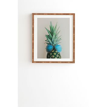 Chelsea Victoria Pineapple In Paradise Framed Wall Art