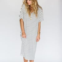 Stripe Oversize Dress
