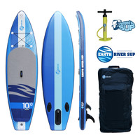 """Earth River SUP 10-0 V-II Inflatable Paddle Board 2017 (10'0""""x33""""x6"""")"""
