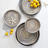 Nested Woven Trays - Set of Six