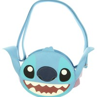 Loungefly Disney Stitch Big Face 3D Ears Cross Body Bag
