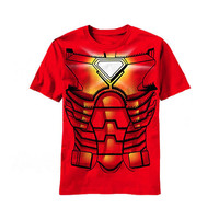 Iron Man Costume Kids T-Shirt
