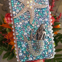Any Type Phone Mermaid Bling Case