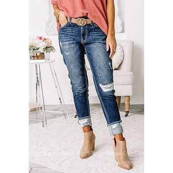Cool & Contemporary Relaxed Fit Boyfriend Jeans