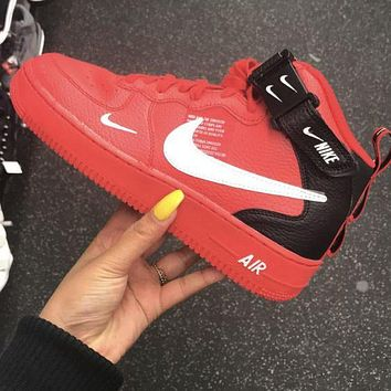 Nike Air force 1 AF1 classic hot sale high top men women sneakers Shoes