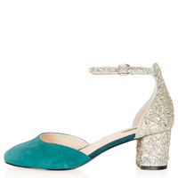 JUNIPER Glitter Mid Heels - New In This Week - New In - Topshop USA