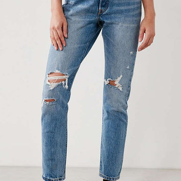 Levi's 501 Skinny Jean – Old Hangout   Urban Outfitters