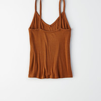 AE Ribbed Boy Tank Top, Tan