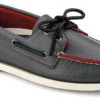 Sperry Top-Sider Authentic Original Two-Tone 2-Eye Boat Shoe GrayLeather, Size 9M  Men's Shoes