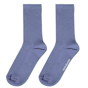 Essential Star Quality Sock | Sky Blue