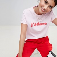 Boohoo J'Adore T-Shirt at asos.com