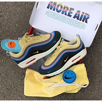 Sean Wotherspoon x Air Max 1 / 97 VF SW Hybrid Retro Sport Running Shoes AJ4219-400