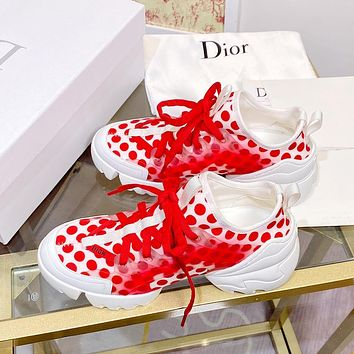 Dior CD new personality thick-soled women's shoes casual sports daddy shoes