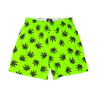 HUF - PLANTLIFE BOXERS SP14 // LIME