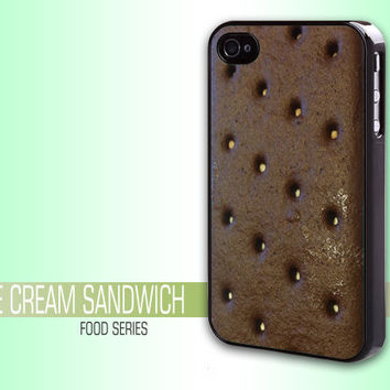 Iphone case Iphone 4 case cool Ice Cream Sandwich awesome Iphone 4s case funny