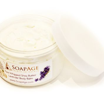 Peppermint Lavender Whipped Shea Butter
