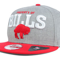 Buffalo Bills NFL Property of Snap 9FIFTY Snapback Cap