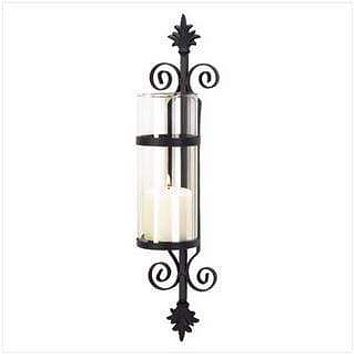 Candle Wall Sconces Ornate Scroll Candle Sconce