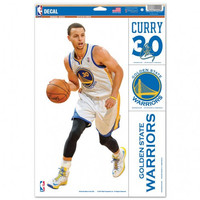 Golden State Warriors 11x17 Multi Use Decal - Stephen Curry