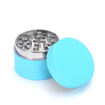 Herb Weed Grinder Tobacco Metal Grinder Cigarettes 40mm 3Parts Zinc Alloy Chicha Shihsa Coffee Mill Fantastic for Water Pipe
