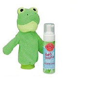 Scentsy Ribbert the Frog Scrubby Buddy Mit & Wild What a Melon Scent Bath Smoothie