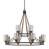 Savoy House Maverick 12 Light Chandelier