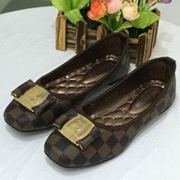 Louis Vuitton LV Women Fashion Casual Flats Shoes