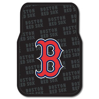 Boston Red Sox MLB Car Front Floor Mats (2 Front) (17x25)