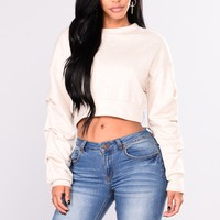 Less Is More Sweater - Ivory