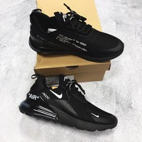 shosouvenir Off white x Nike Air Max 270 Fashion casual shoes