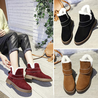 Hot Deal On Sale Winter Shoes Round-toe Autumn Dr. Martens Boots [8865355788]