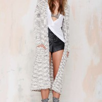 Leila Knit Duster Coat