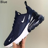 Nike Air Max 270 Popular Women Men New Style Air Cushion Sport Shoes Running Sneakers Shoes