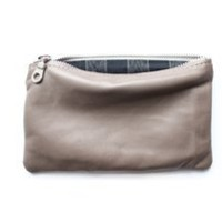 rennes shop ? Six Point Five Inch Pouch - Taupe