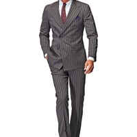 Suit Light Brown Stripe Madison P3808   Suitsupply Online Store