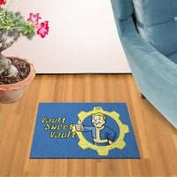 Fallout Vault Sweet Vault Doormat Welcome Floormat