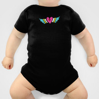 Kisses Even To The Air Are Beautiful Baby Clothes by Gigglebox