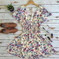 Carefree Beauty Dress-Floral