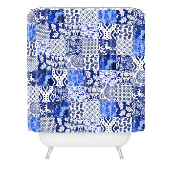 Aimee St Hill Blue Is Just A Mood Shower Curtain