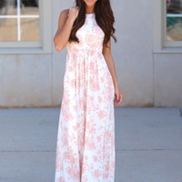 Dipped In Dreams Maxi Dress | Monday Dress Boutique