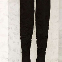 Nasty Gal Fold You So Over-the-Knee Boot