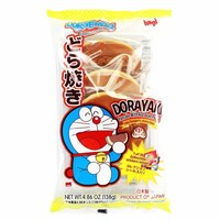 Japanese Dorayaki Pancake with Doraemon by Hapi, 4.8 oz (138 g)