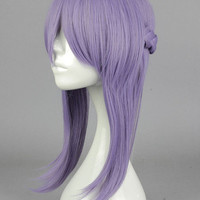 Purple Back Braided Wig with Heat-resistant Fiber