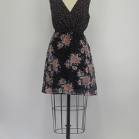 Urban Outfitters Pins And Needles Floral Print Dress Small S