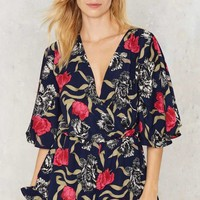 Grow Matter What Floral Romper
