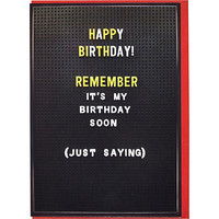 River Island MensJust saying birthday card