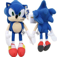 """Blue Sonic the HedgeHog 7"""" Plush-Sonic the Hedge Hog 7"""" Plush-New with Tags!"""